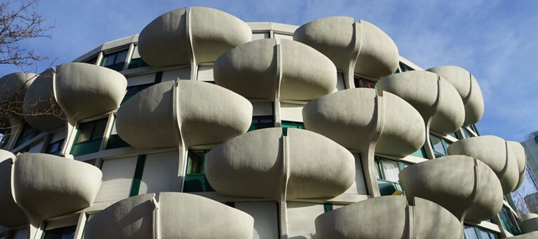 Les choux de Créteil, l'architecture florale de Gérard Grandval