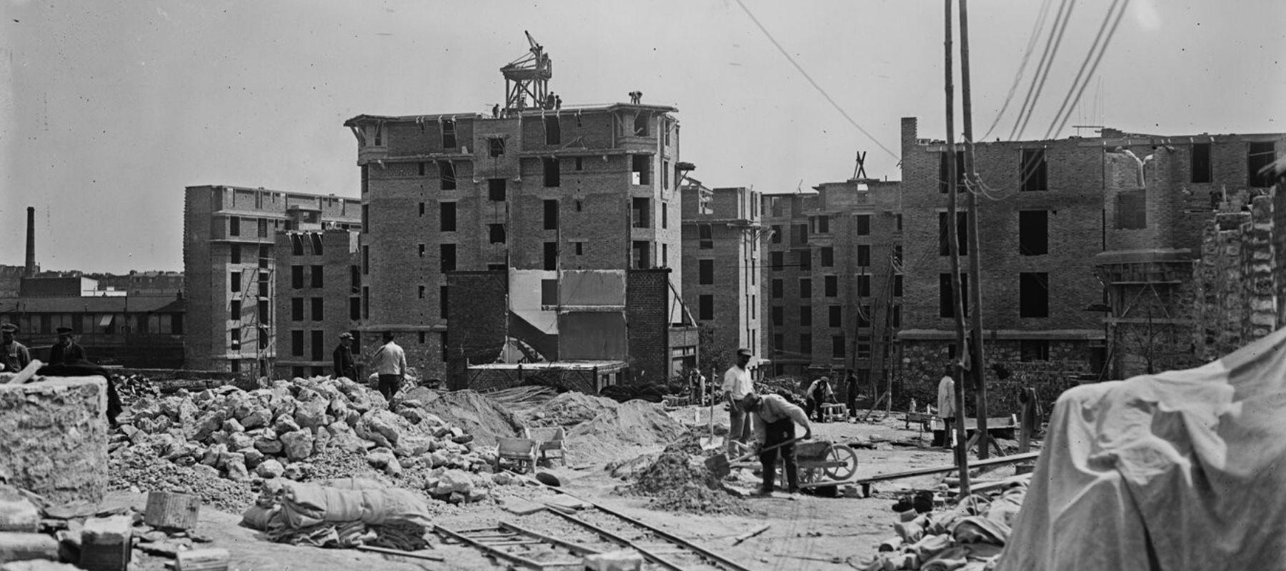Les habitations à bon marché (HBM) à Paris, ancêtres des habitations à loyer modéré (HLM)