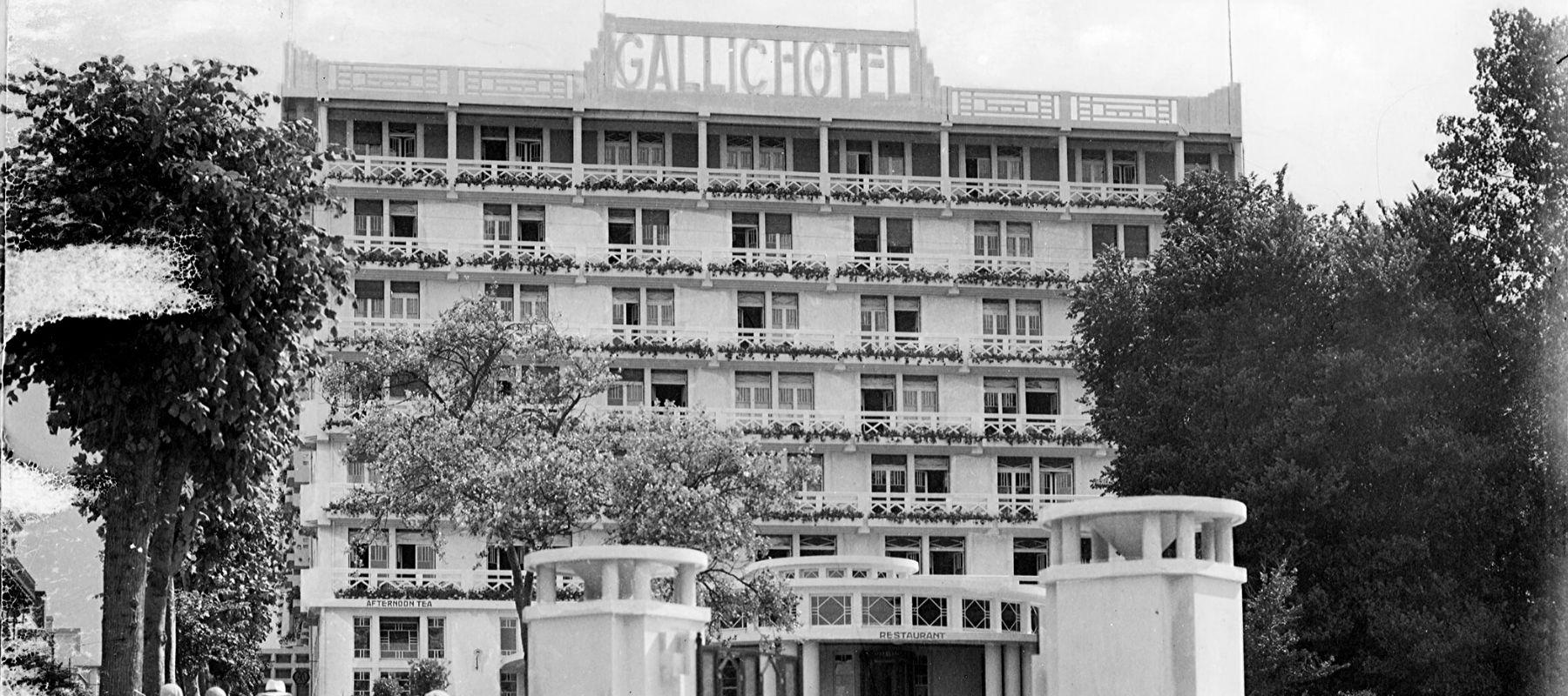 Le Gallic à Dinard, en Bretagne, ancien hôtel Art déco par Marcel Oudin divisé en appartements