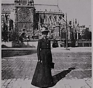 Julia Morgan à Notre-Dame-de-Paris